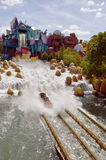 Universals Island of Adventure Dudley Do-Right;s Ripsaw Falls Royalty Free Stock Image