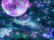 Universe stock illustration