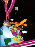 Universe abstract  illustration Stock Image