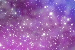 Universe. Abstract illustration of universe stars Stock Photos