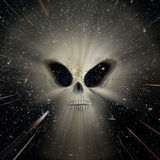 Universe alien threat Royalty Free Stock Photography