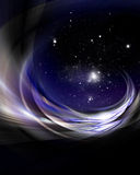 Universe background design Stock Image