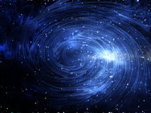 Universe Background. The Great Multiverses Vortex Attractor Stock Photos