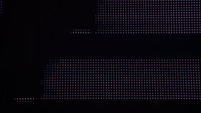 Universe colorful moving bokeh unfocused lights in club stock footage