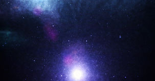 Universe colorful Stock Image