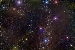Universe deep space star nebula Stock Image