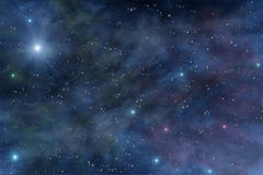 Universe deep space star nebula Royalty Free Stock Image