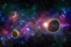 Universe effect Stock Images