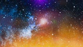 Universe filled with stars, nebula and galaxy Royalty Free Stock Photo