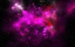 Universe filled with stars. Royalty Free Stock Photos