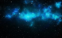 Universe filled with stars. Stock Photo