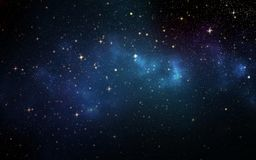 Universe filled with stars. Stock Photography