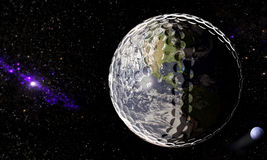 Universe of Golf Royalty Free Stock Images