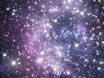 Universe illustration Royalty Free Stock Images