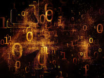 Universe of Numbers Stock Image