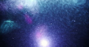 Universe purple. View of universe with stars and amazing colorful stock footage