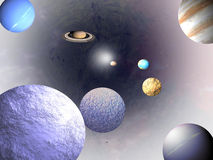 Universe - science backgrounds royalty free stock image