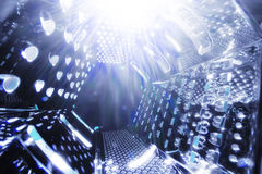 Universe space grater abstract Stock Image