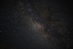 Universe space milky way galaxy with many stars at night. Astronomy photography Royalty Free Stock Image