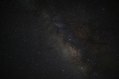 Universe space milky way galaxy with many stars at night Stock Photography