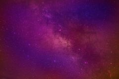 Universe space milky way galaxy with many stars at night. Astronomy photography Stock Image