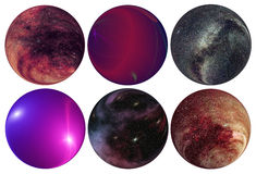 Universe space science Stock Photos
