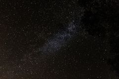 Universe space shot of milky way royalty free stock images