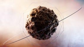 Universe Sphere Stock Image