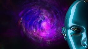 Spiral galaxy and artificial intelligence