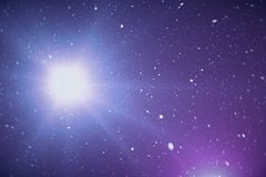 Universe star field in deep space with nebula many light years far from the Earth. Colorful background. 3d rendering. Universe star field in deep space with Stock Image