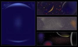 Universe-Cosmos-Space backgrounds Stock Photo