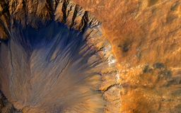 Universe Volcano Peak Crater Stock Photography