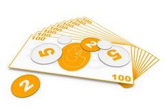 Universeel geld. Royalty-vrije Illustratie