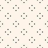 Universeel vector naadloos patroon, kleine rond gemaakte vormen Royalty-vrije Stock Fotografie