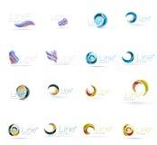 Universele abstracte geometrische vormen - zaken Stock Foto