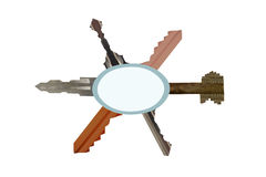 Universele sleutel Royalty-vrije Stock Foto's