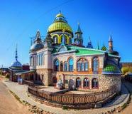 Universella religioner för tempel allra i Kazan Royaltyfria Bilder