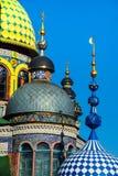 Universella religioner för tempel allra i Kazan, Ryssland Arkivbild