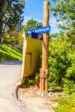 Universella studior Hollywood Park, Los Angeles, USA Arkivbild
