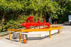 Universella studior Hollywood Park, Los Angeles, USA Royaltyfria Foton