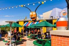 Universella studior Hollywood Park, Los Angeles, USA royaltyfri illustrationer