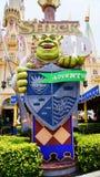 Universella studior Singapore för Shrek 4D affärsföretag Arkivfoton