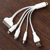 Universella USB kablar Royaltyfri Fotografi