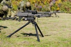 Universelles Maschinengewehr Stockfoto