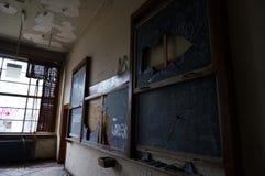 Universidad abandonada imagen de archivo