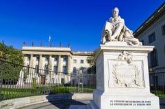 Universidad Berlín de Humboldt fotos de archivo