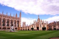 Universidad Cambridge, una universidad constitutiva del ` s del rey de la universidad de Cambridge en Inglaterra fotos de archivo