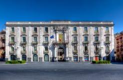 Universidad, Catania, Sicilia, Italia foto de archivo