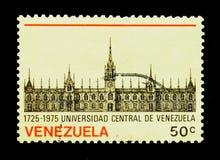 Universidad central vieja, 250 años de aniversario, serie, circa 1976 Imagen de archivo