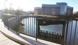 Universidad conmemorativa Fotos de archivo libres de regalías